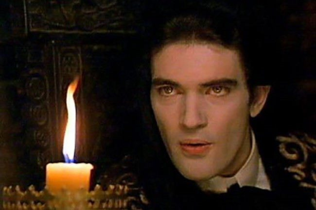 Antonio Banderas as the vampire