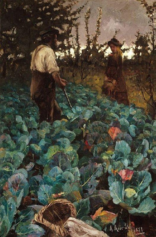 Arthur Melville. Cabbage Garden. 1877