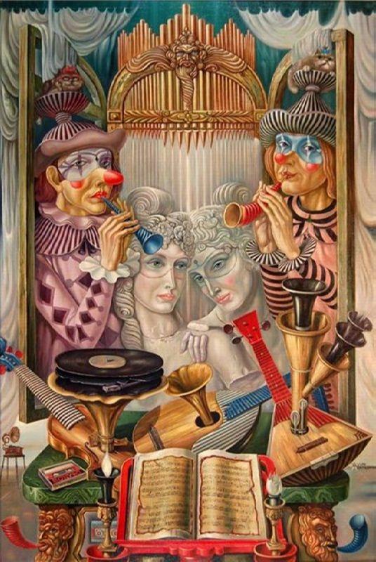 Artist Mikhail Khokhlachov