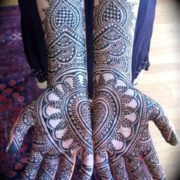 Attractive mehndi design