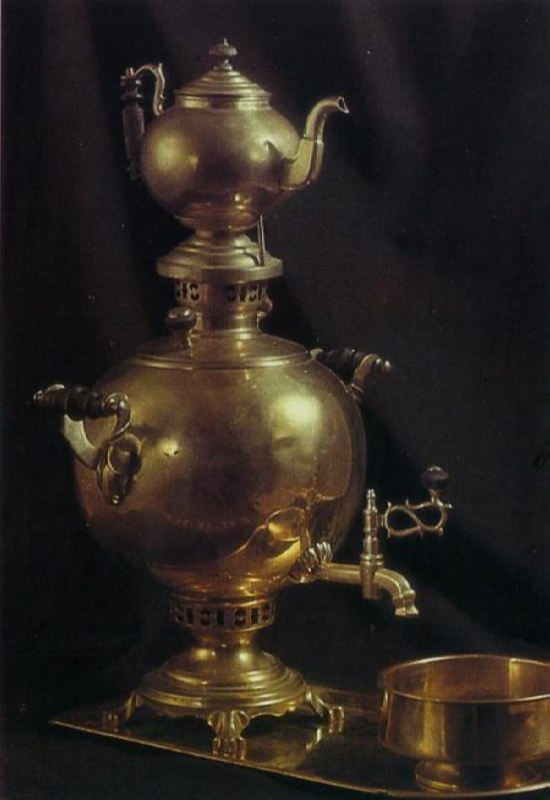 Attractive samovar