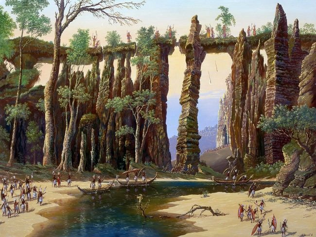 Barrier of the Atlanteans. The raid on Atlantis, 2006