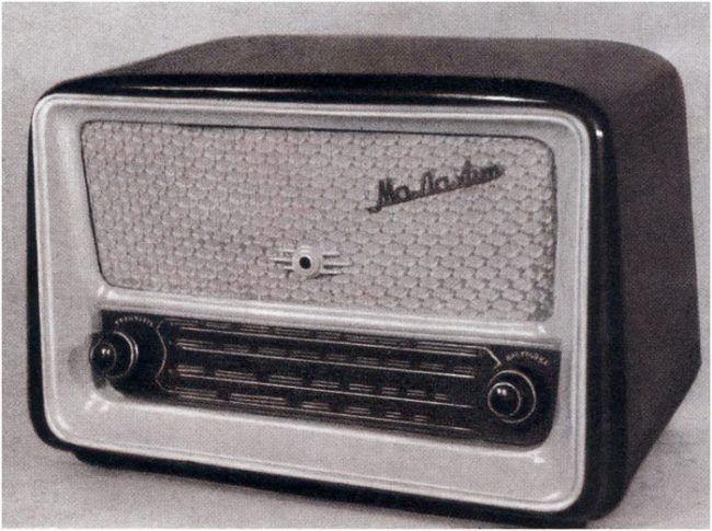 Battery radio Malachite
