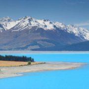 Blue Lake Pukaki, New Zealand