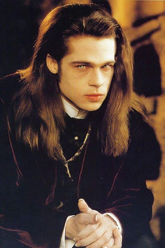 Brad Pitt as vampire