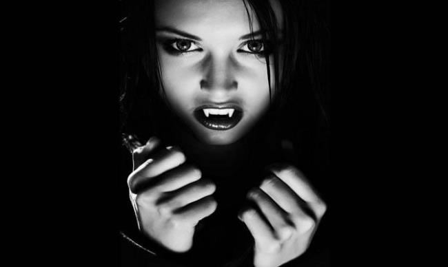 Charming vampire