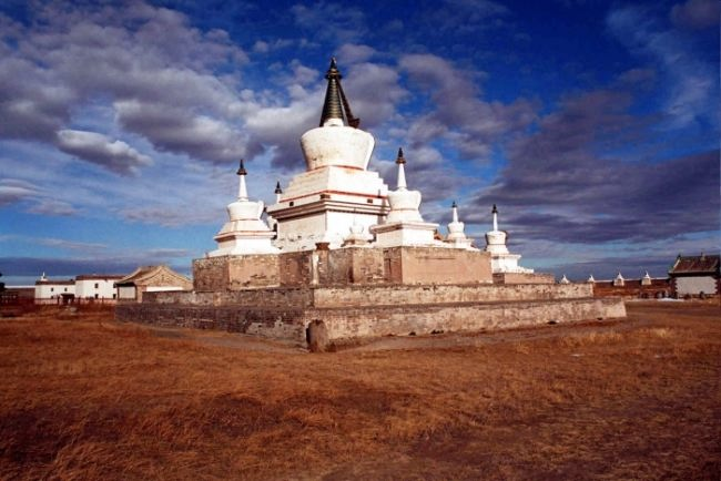 Erdene Zuu is the most ancient Buddhist monastery in Mongolia