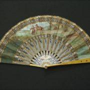 Folding fan, France, circa 1905