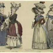 French men, women, and a child, 1774-1792