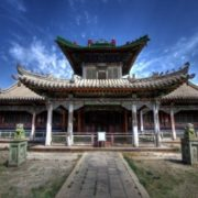 Gandan Monastery - one of the nine wonders of Mongolia