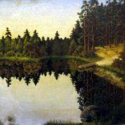 Gavrilenok Yuri Petrovich. At the steep bank