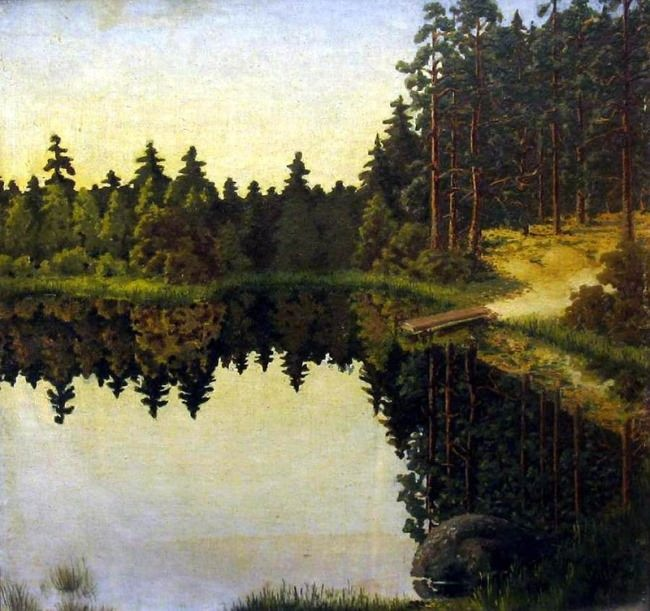 Gavrilenok Yuri Petrovich. At the steep bank
