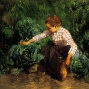 Geza Peske. In the Garden