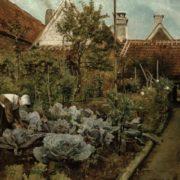 Henri de Braekeleer. A Flemish Garden, 1864