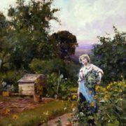 Henry John Yeend King. Cabbage Gatherer