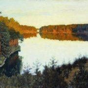 Isaak Ilich Levitan. Forest Lake