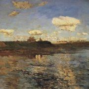 Isaak Ilich Levitan. Interesting Lake