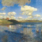 Isaak Ilich Levitan. Lake. Russia