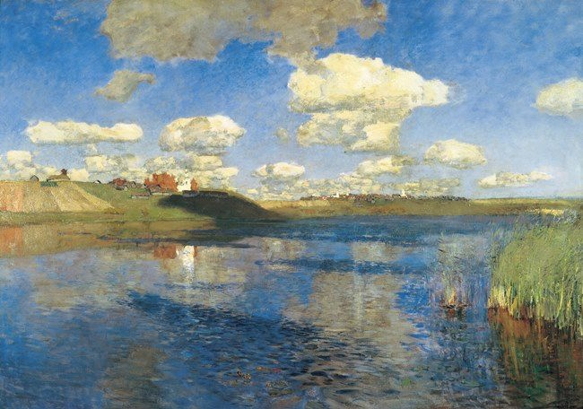 Isaak Ilich Levitan. Lake. Russia
