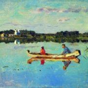 Isaak Ilich Levitan. On the lake