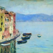Issak Ilich Levitan. Beautiful Lake Como