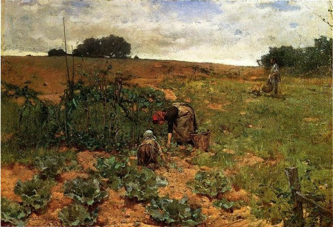 John Moran. Cabbage Pickers