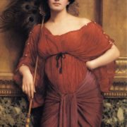 John William Godward. A Roman Matron