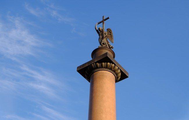 Lovely Alexandrian Column