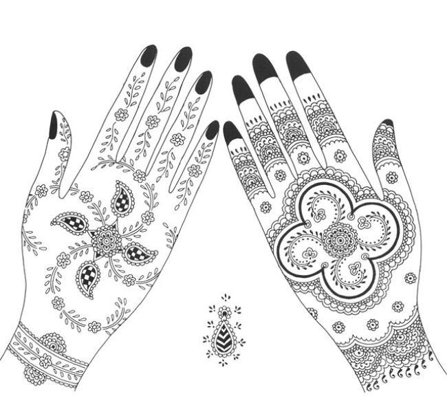 Lovely mehndi design