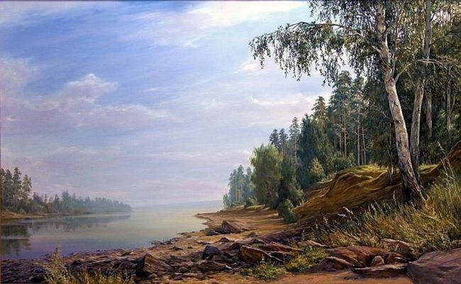 M.S. Akimova. Lake Kruglenkoye