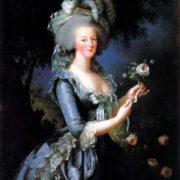 Marie-Antoinette by Elisabeth Vigee-Lebrun, 1783