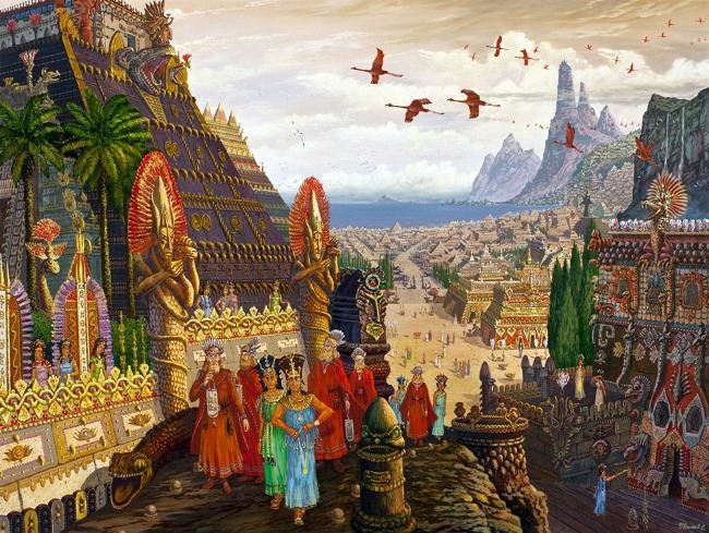 Merchants from Oriana arrived in Atlantis, 2012