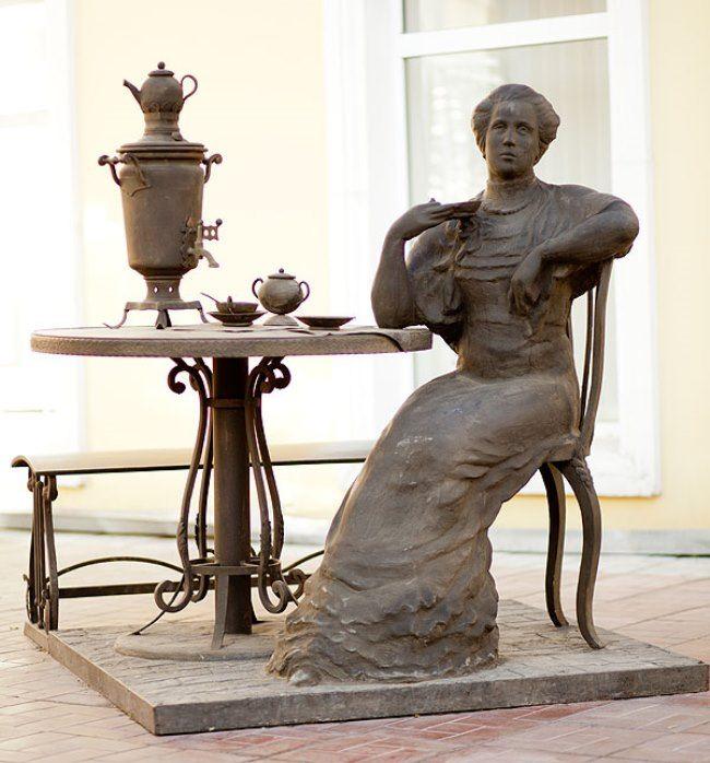 Monument in Omsk