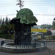 Monument to cabbage in Indonesia
