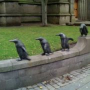 Monument to penguins