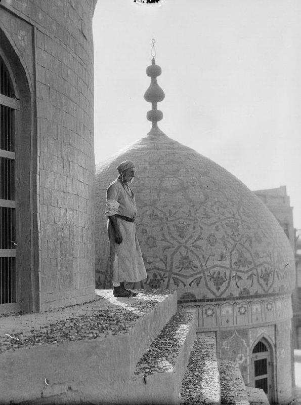 Muezzin in Baghdad