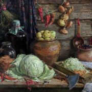 Natalia Nepianova. Autumn work. 2001