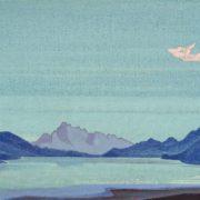 Nicholas Roerich. Tibetan lakes
