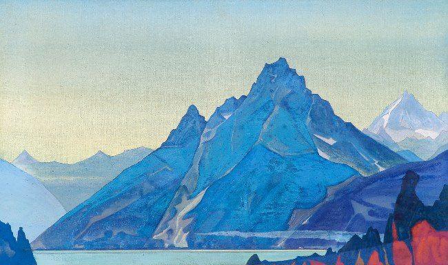 Nicholas Roerich. Wonderful Lake