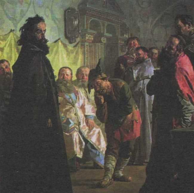 Nikolay Nevrev. The Jester (The Disgraced Boyar). 1891
