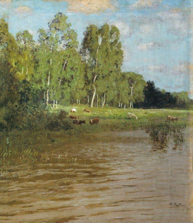 Nikolay Nikanorovich Dubovskoi. Lake