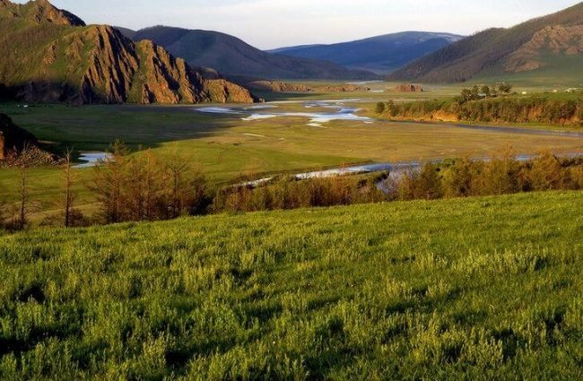 Orkhon river valley