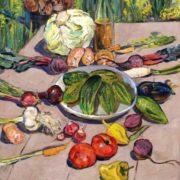 Petr Kolomoytsev. Early vegetables. 1971