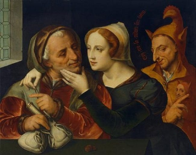 Quentin Matsys. Matched Lovers
