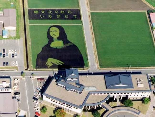 Rice Mona Lisa
