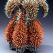 Stunning sculpture of pencils by Jen Maestre