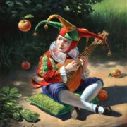 Surrealist artist Mikhail Khokhlachev