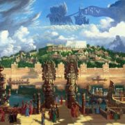 The capital of Atlantis. Temple of Poseidon, 2012
