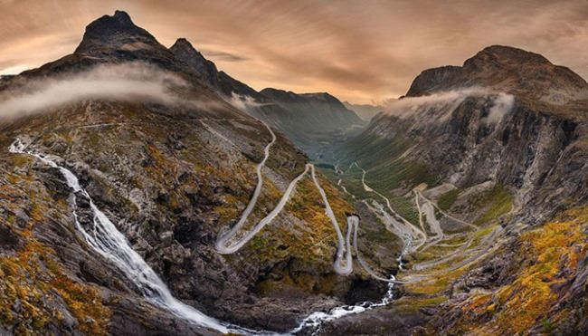 Trollstigen - National Tourist Road