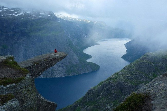 Trolltunga, Troll tongue